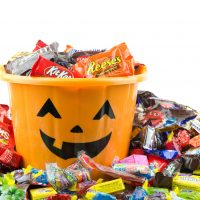 Halloween candy and gym nutrition